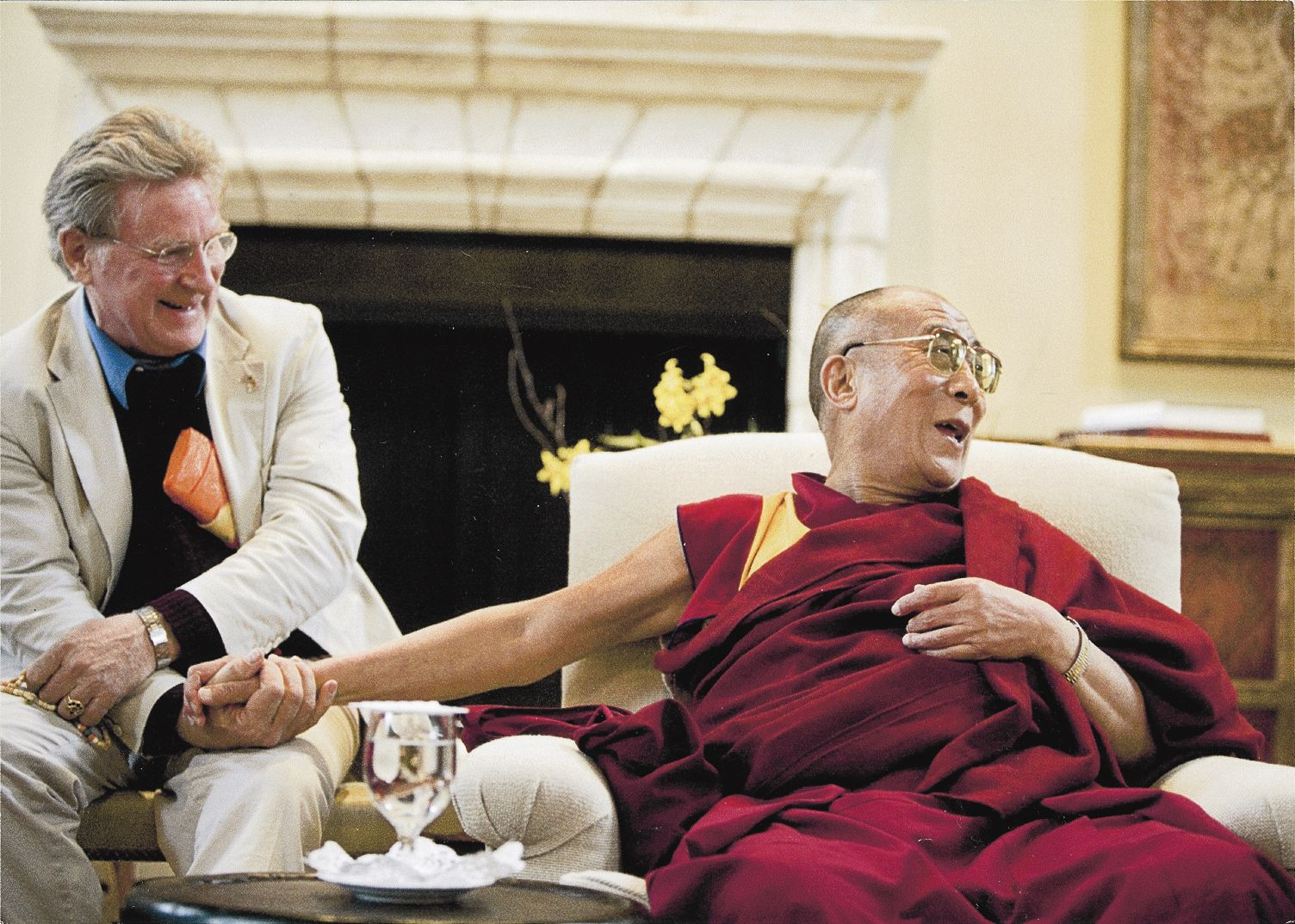 Thurman and Lama